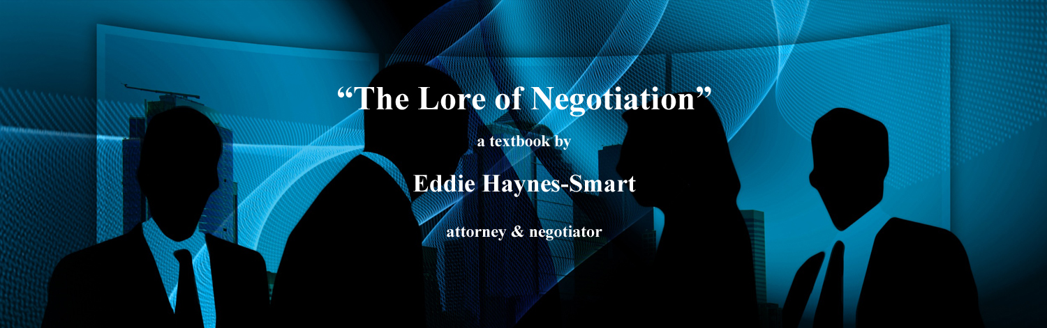 lore of negotiation
